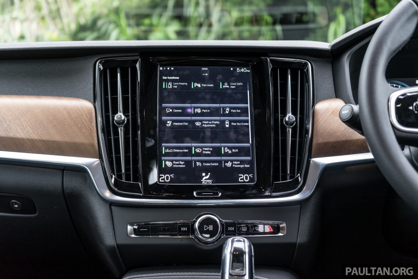 Volvo S90 T8 Twin Engine Inscription CKD launched, 407 hp and 640 Nm plug-in hybrid, from RM368,888 Image #722005