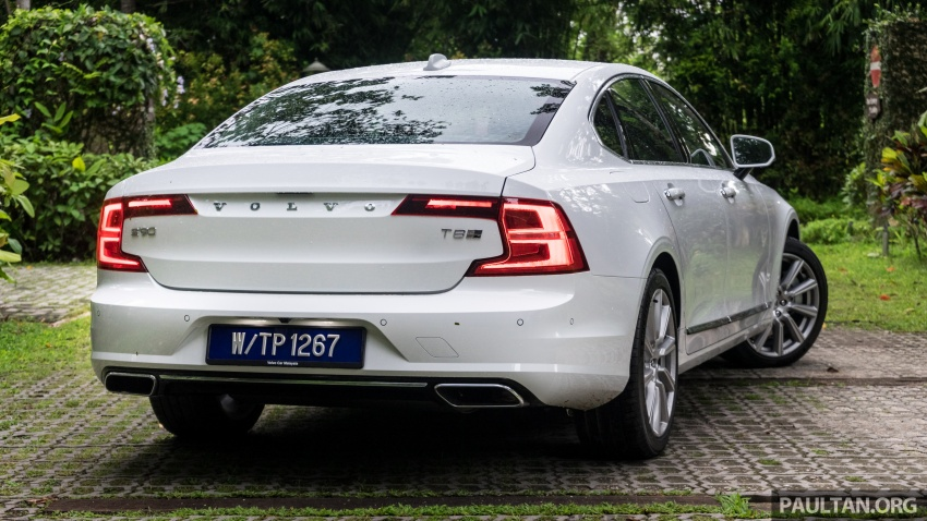 Volvo S90 T8 Twin Engine Inscription CKD launched, 407 hp and 640 Nm plug-in hybrid, from RM368,888 Image #721977