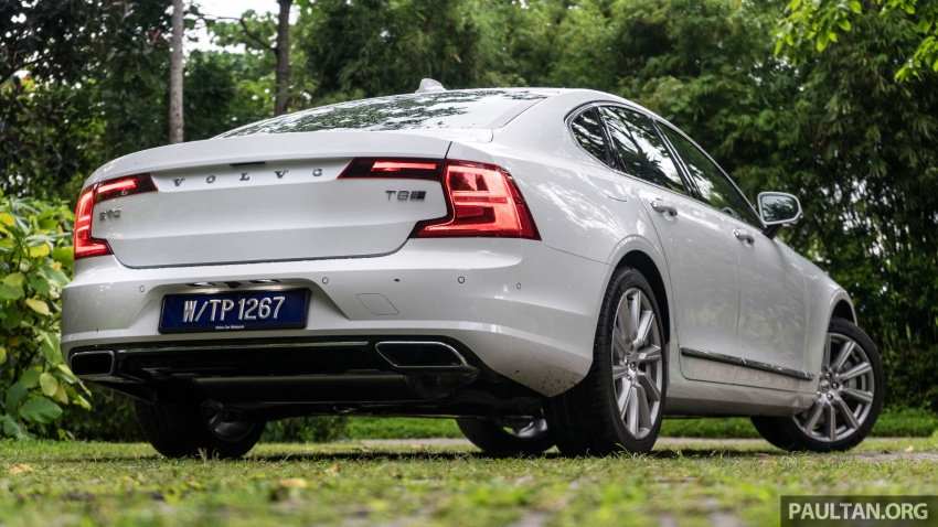 Volvo S90 T8 Twin Engine Inscription CKD launched, 407 hp and 640 Nm plug-in hybrid, from RM368,888 Image #721978