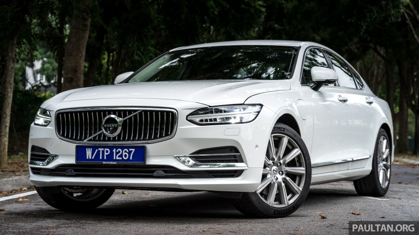 Volvo S90 T8 Twin Engine Inscription CKD launched, 407 hp and 640 Nm plug-in hybrid, from RM368,888 Image #721989