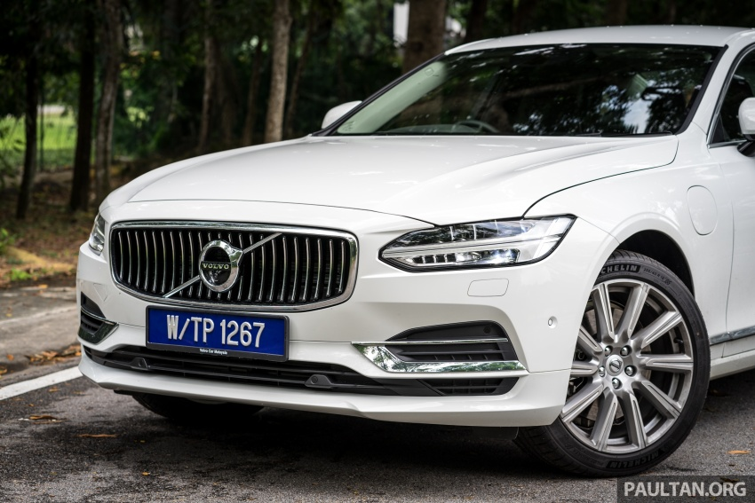 Volvo S90 T8 Twin Engine Inscription CKD launched, 407 hp and 640 Nm plug-in hybrid, from RM368,888 Image #721991