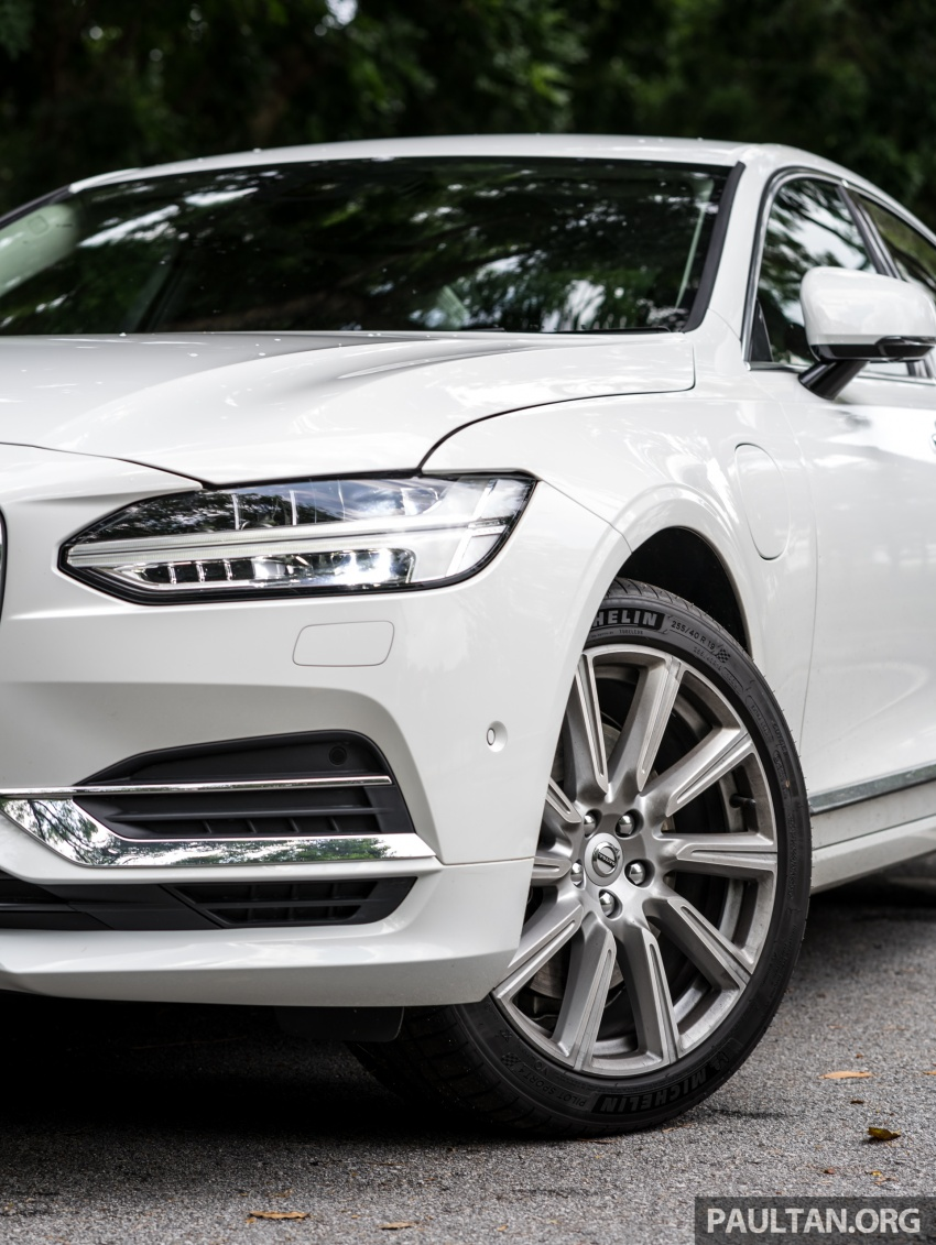 Volvo S90 T8 Twin Engine Inscription CKD launched, 407 hp and 640 Nm plug-in hybrid, from RM368,888 Image #721992