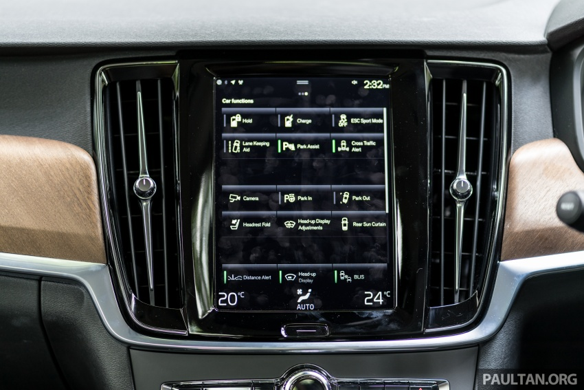 Volvo S90 T8 Twin Engine Inscription CKD launched, 407 hp and 640 Nm plug-in hybrid, from RM368,888 Image #722021