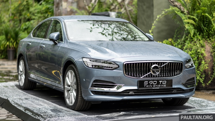 Volvo S90 T8 Twin Engine Inscription CKD launched, 407 hp and 640 Nm plug-in hybrid, from RM368,888 Image #721954