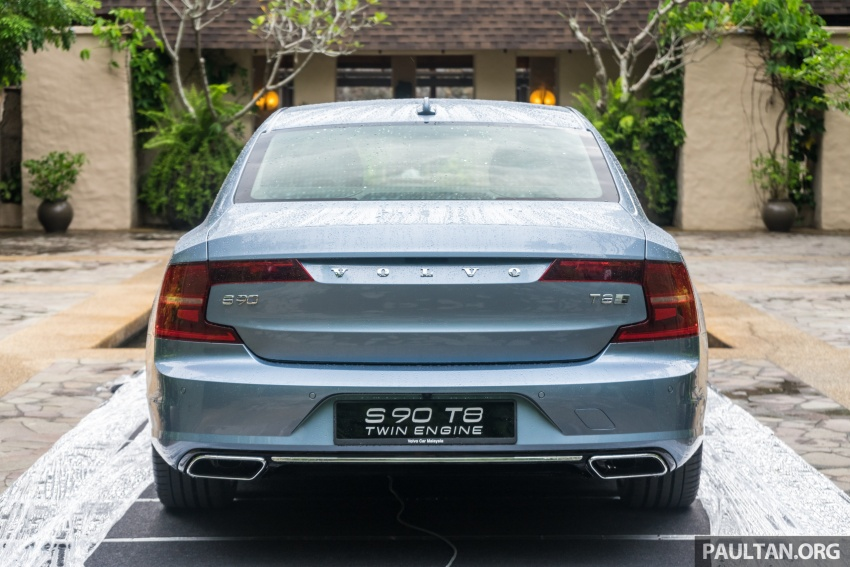 Volvo S90 T8 Twin Engine Inscription CKD launched, 407 hp and 640 Nm plug-in hybrid, from RM368,888 Image #721956