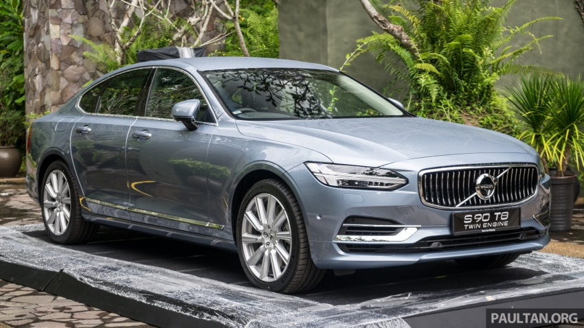 Volvo S90 T8 Twin Engine Inscription CKD launched, 407 hp and 640 Nm plug-in hybrid, from RM368,888 Image #721958