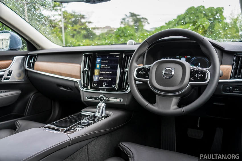 Volvo S90 T8 Twin Engine Inscription CKD launched, 407 hp and 640 Nm plug-in hybrid, from RM368,888 Image #721936