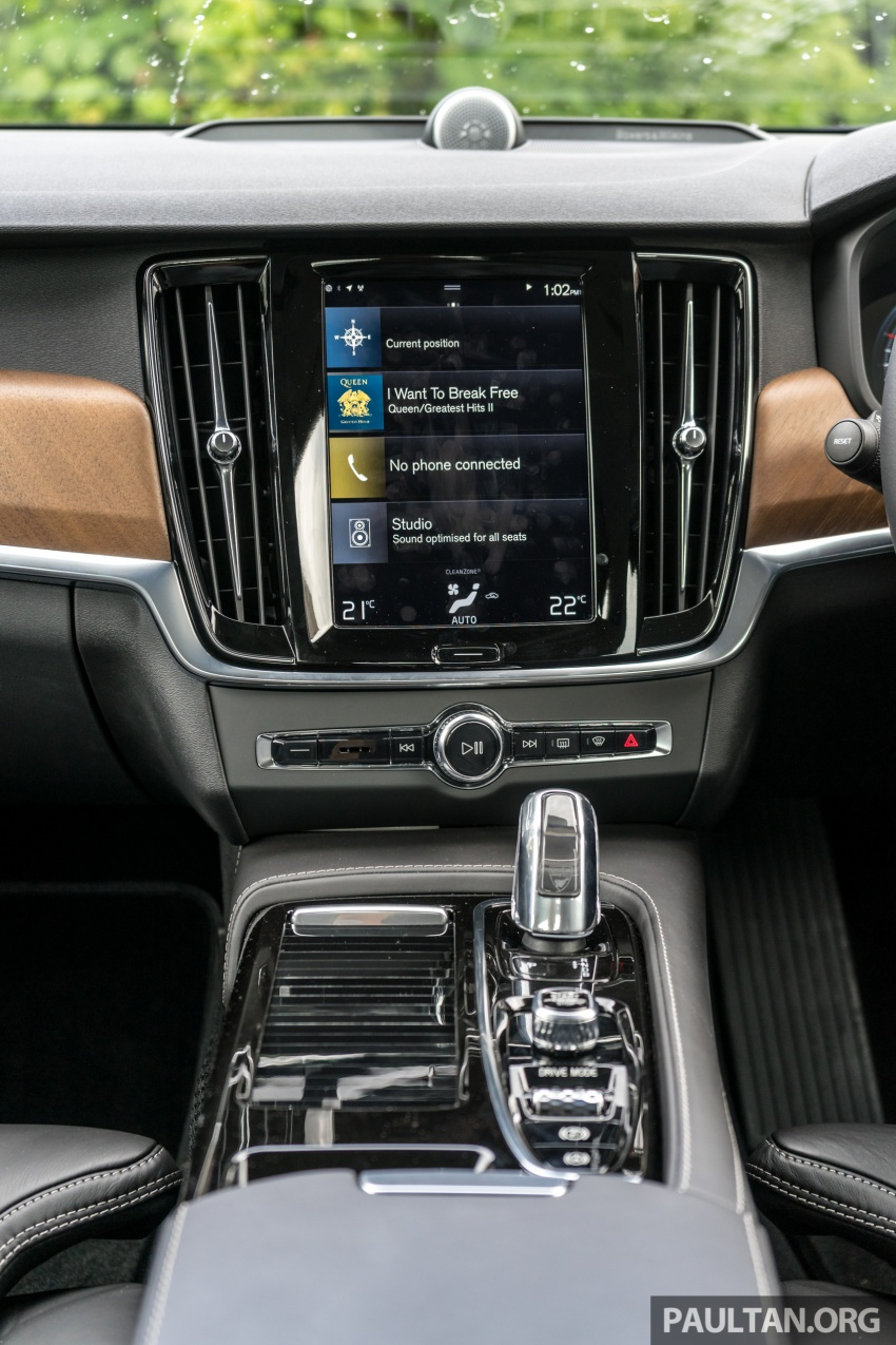 Volvo S90 T8 Twin Engine Inscription CKD launched, 407 hp and 640 Nm plug-in hybrid, from RM368,888 Image #721937
