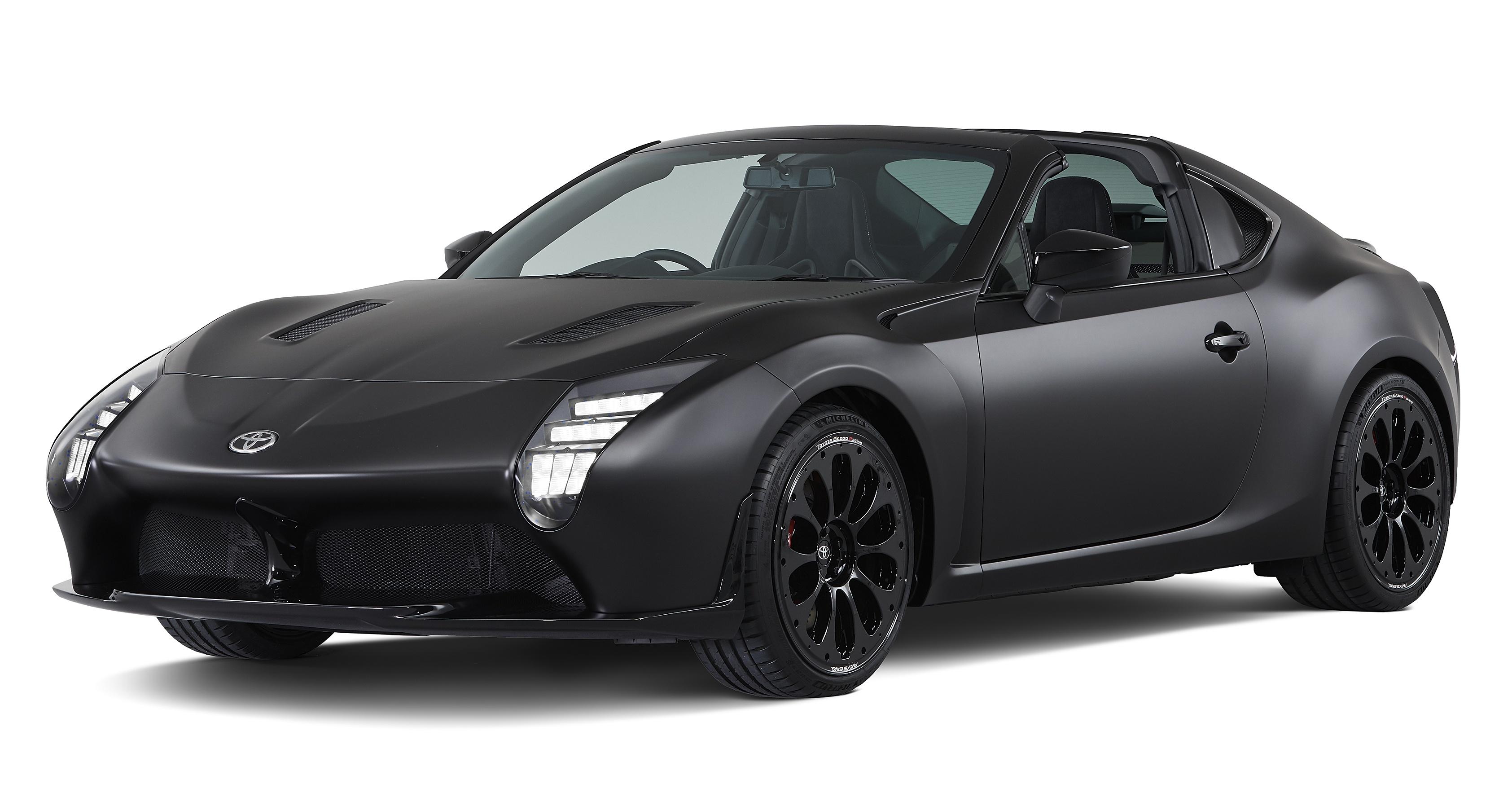 Toyota GR HV Sports concept – hybrid-powered 86 targa with H