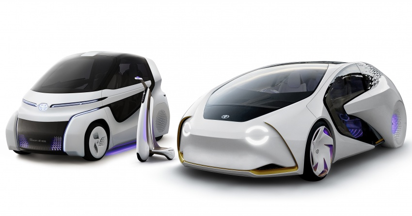 Toyota Concept-i Ride and Walk unveiled, Tokyo debut Image #726184