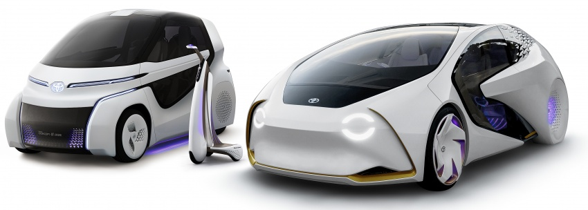 Toyota Concept-i Ride and Walk unveiled, Tokyo debut Image #726136