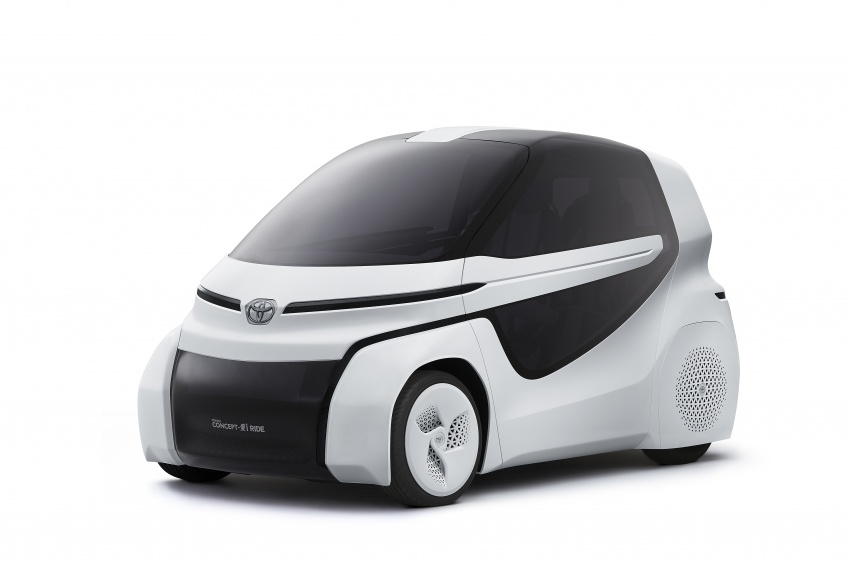Toyota Concept-i Ride and Walk unveiled, Tokyo debut Image #726138