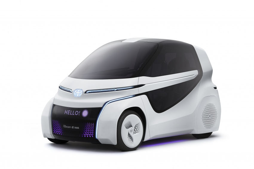 Toyota Concept-i Ride and Walk unveiled, Tokyo debut Image #726139