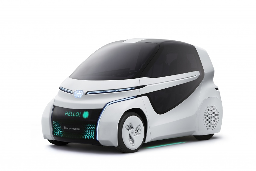 Toyota Concept-i Ride and Walk unveiled, Tokyo debut Image #726140