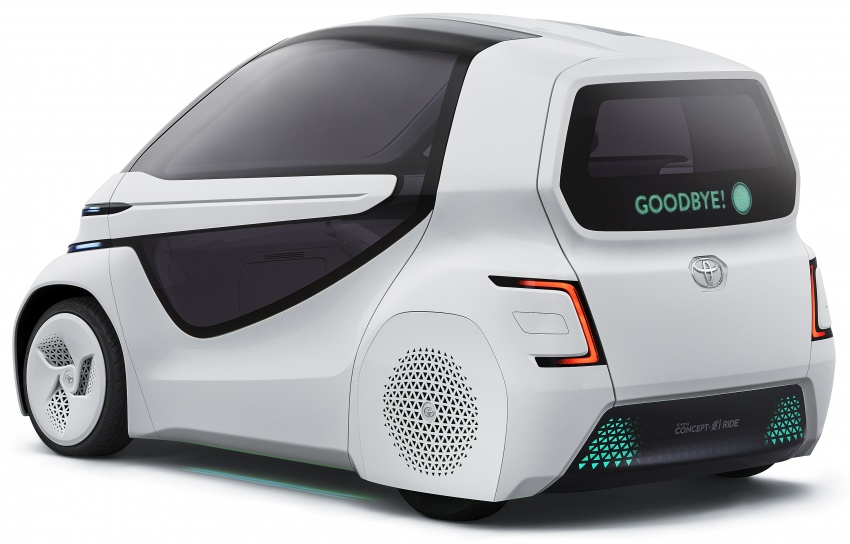 Toyota Concept-i Ride and Walk unveiled, Tokyo debut Image #726144