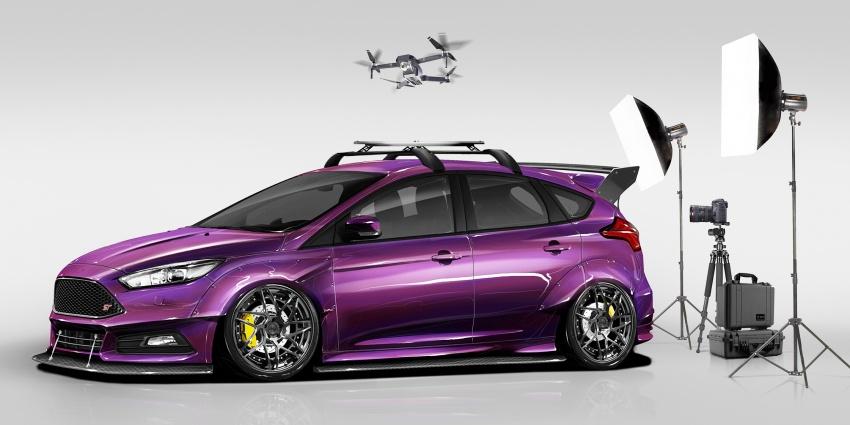 Ford Focus RS dan Focus ST diubah suai untuk SEMA Image #723751