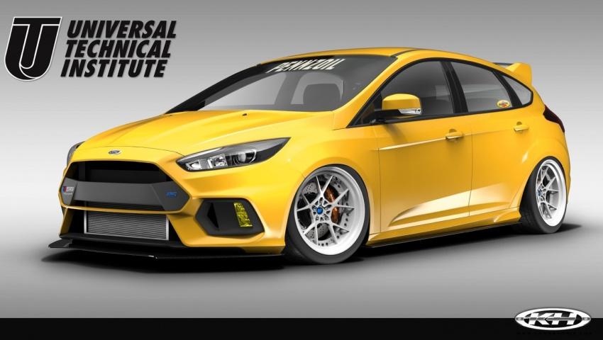 Ford Focus RS dan Focus ST diubah suai untuk SEMA Image #723754