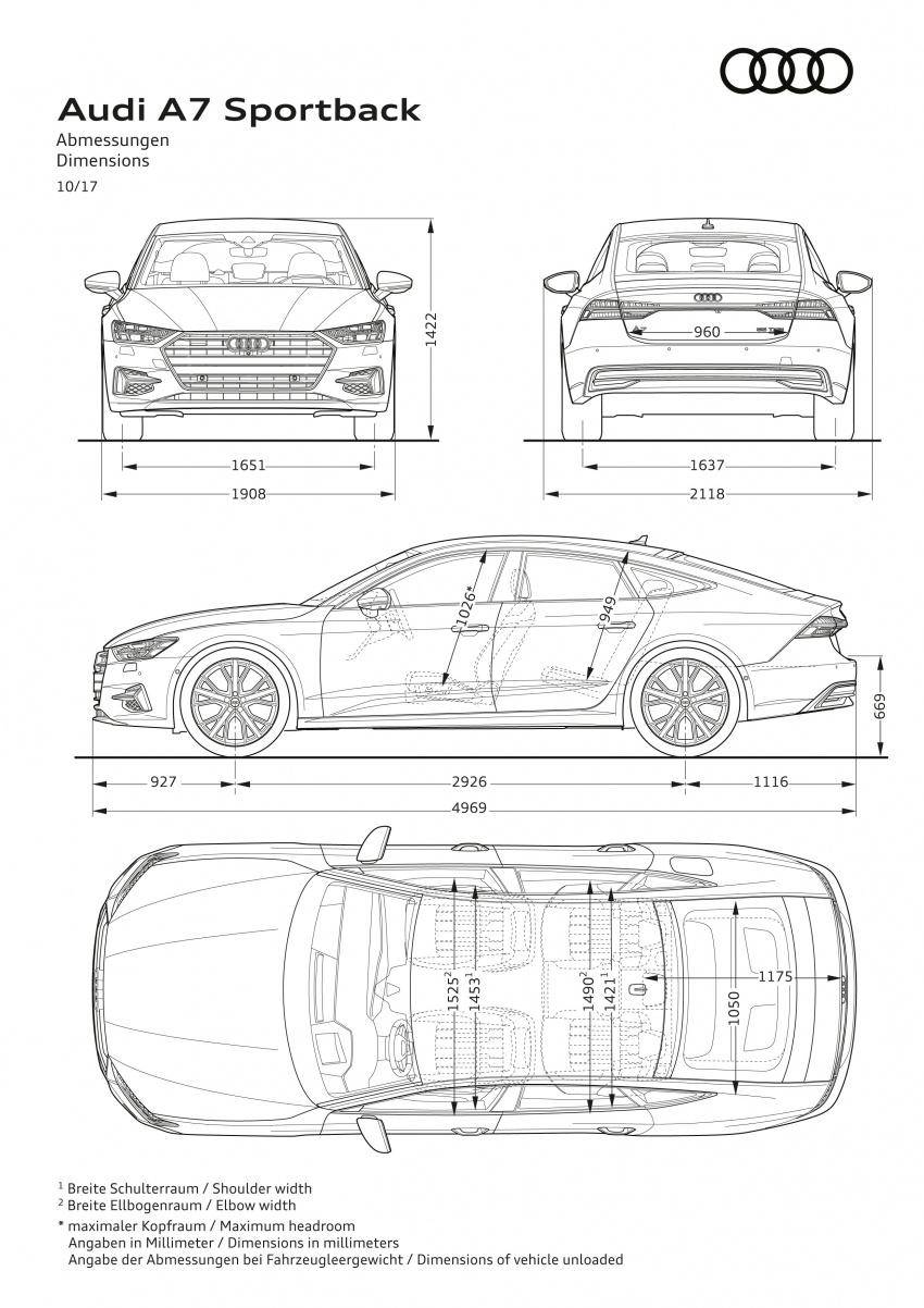 2018 Audi A7 Sportback – all models hybrid, Audi AI Image #726219
