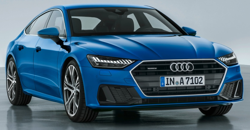 2018 Audi A7 Sportback – all models hybrid, Audi AI Image #726228