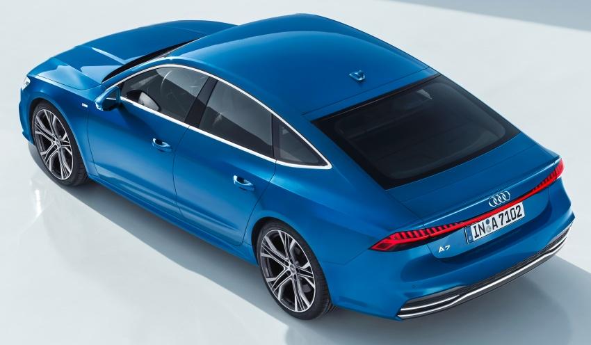 2018 Audi A7 Sportback – all models hybrid, Audi AI Image #726230