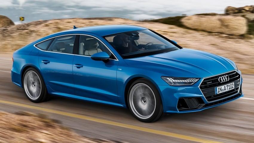2018 Audi A7 Sportback – all models hybrid, Audi AI Image #726233