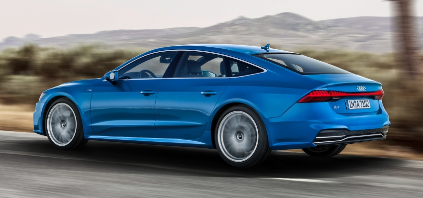 2018 Audi A7 Sportback – all models hybrid, Audi AI Image #726234