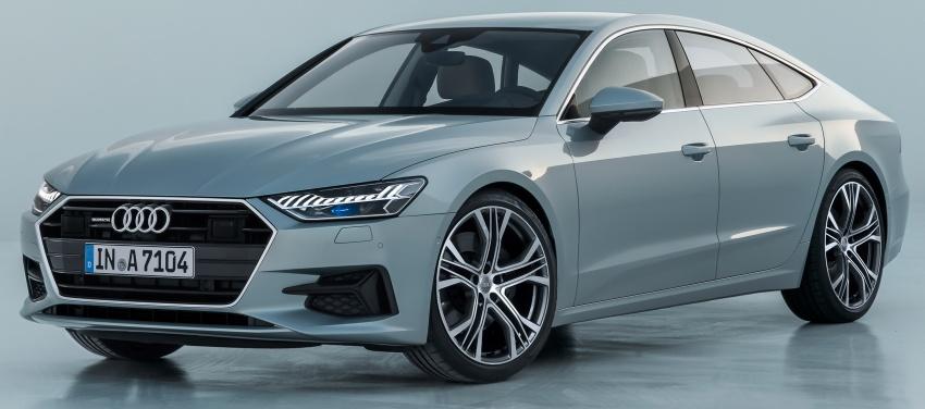 2018 Audi A7 Sportback – all models hybrid, Audi AI Image #726236
