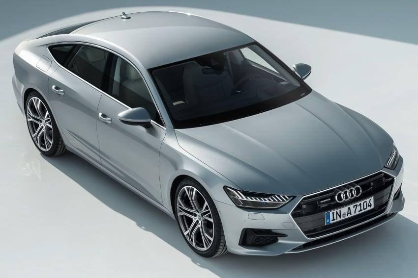 2018 Audi A7 Sportback – all models hybrid, Audi AI Image #726239
