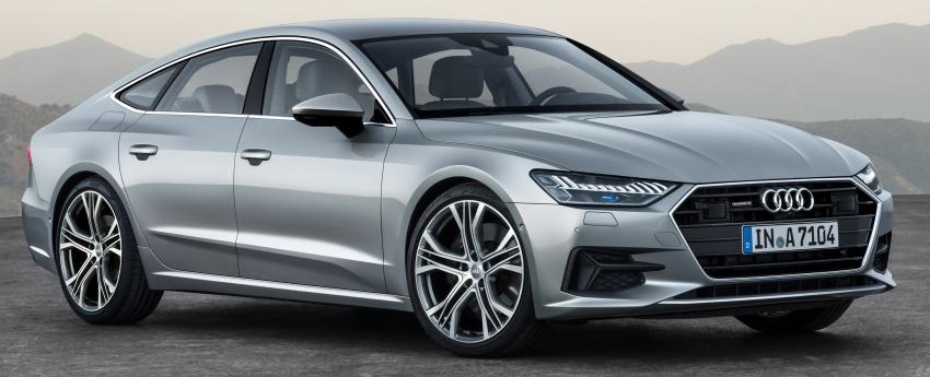 2018 Audi A7 Sportback – all models hybrid, Audi AI Image #726242