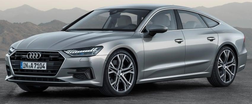 2018 Audi A7 Sportback – all models hybrid, Audi AI Image #726244