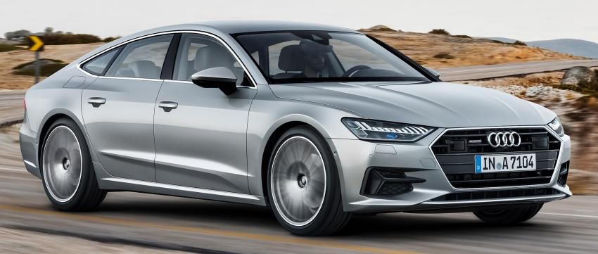 2018 Audi A7 Sportback – all models hybrid, Audi AI Image #726250