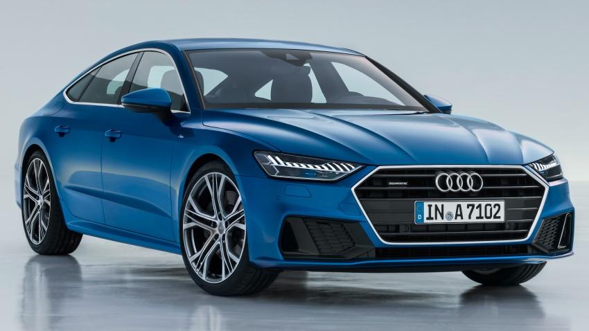 2018 Audi A7 Sportback – all models hybrid, Audi AI Image #726227