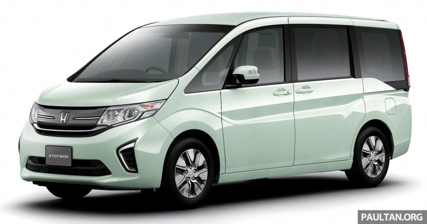 Honda StepWGN updated in Japan – Sport Hybrid i-MMD variants introduced, Sensing comes standard Image #718101