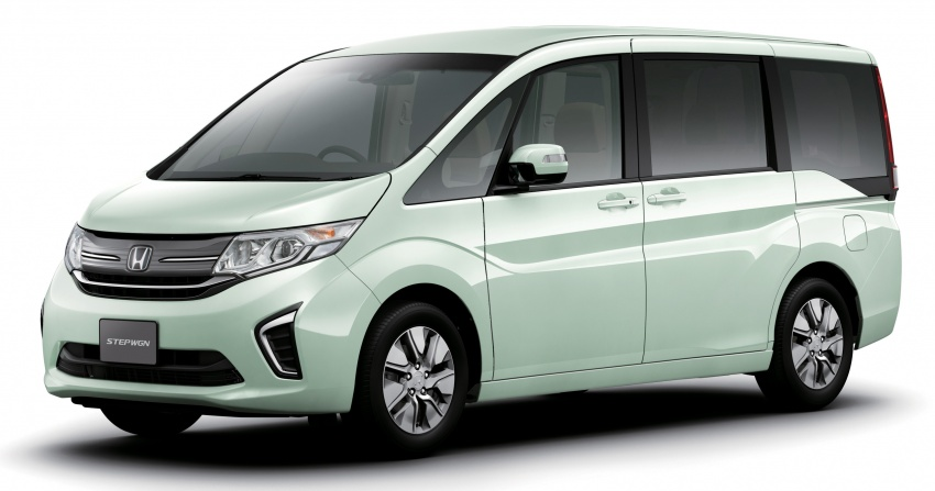Honda StepWGN updated in Japan – Sport Hybrid i-MMD variants introduced, Sensing comes standard Image #718130