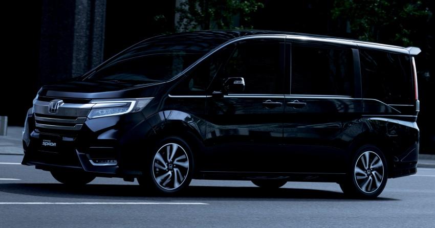 Honda StepWGN updated in Japan – Sport Hybrid i-MMD variants introduced, Sensing comes standard Image #718139