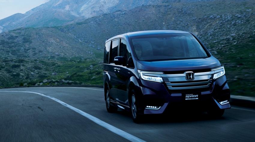 Honda StepWGN updated in Japan – Sport Hybrid i-MMD variants introduced, Sensing comes standard Image #718140
