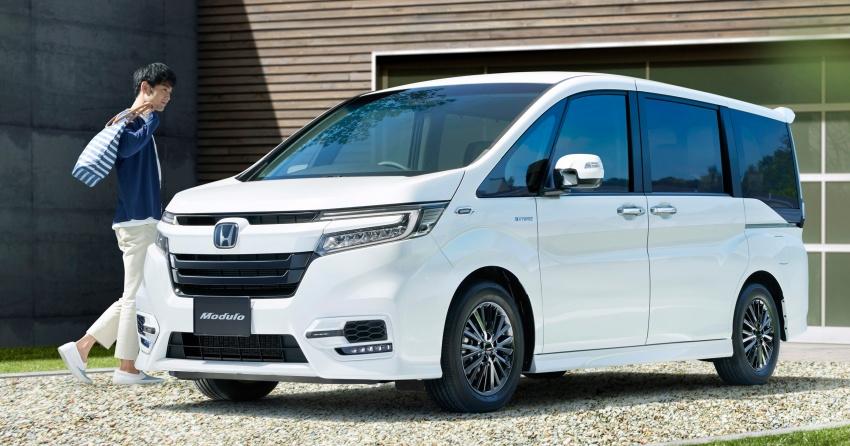 Honda StepWGN updated in Japan – Sport Hybrid i-MMD variants introduced, Sensing comes standard Image #718153