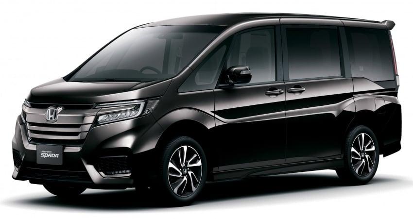 Honda StepWGN updated in Japan – Sport Hybrid i-MMD variants introduced, Sensing comes standard Image #718133