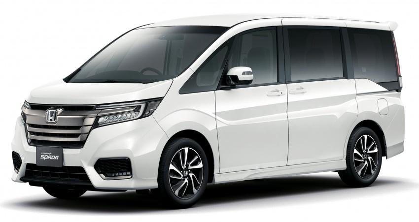 Honda StepWGN updated in Japan – Sport Hybrid i-MMD variants introduced, Sensing comes standard Image #718134