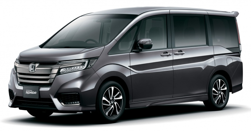 Honda StepWGN updated in Japan - Sport Hybrid i-MMD ...