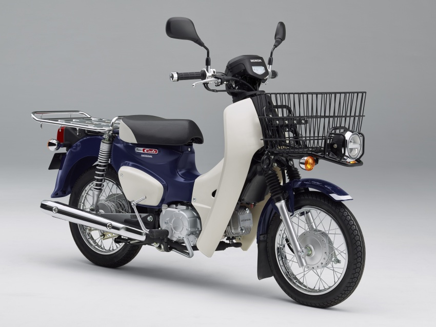 2018 Honda Super Cub 50 and 110 production moves to Japan, with LED lights, Pro version – from RM8,683 Image #725959