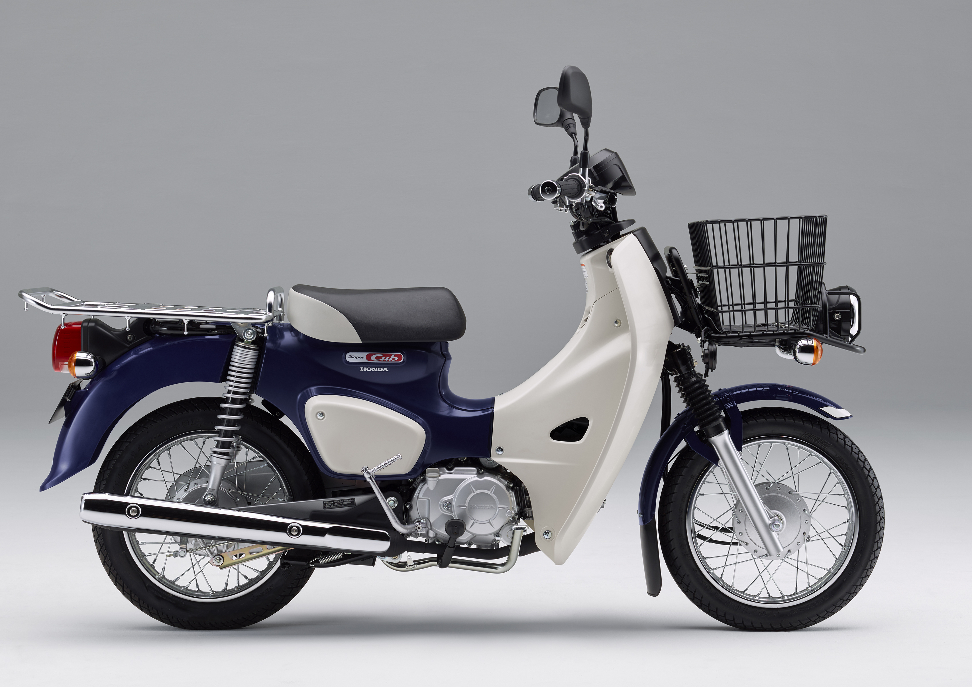 2018 Honda Super Cub 50 And 110 Production Moves To Japan With Led