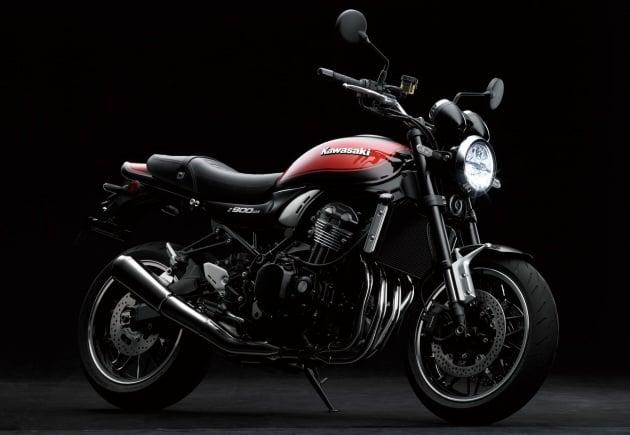 2018 kawasaki z900 rs retro sports bike unveiled. Black Bedroom Furniture Sets. Home Design Ideas