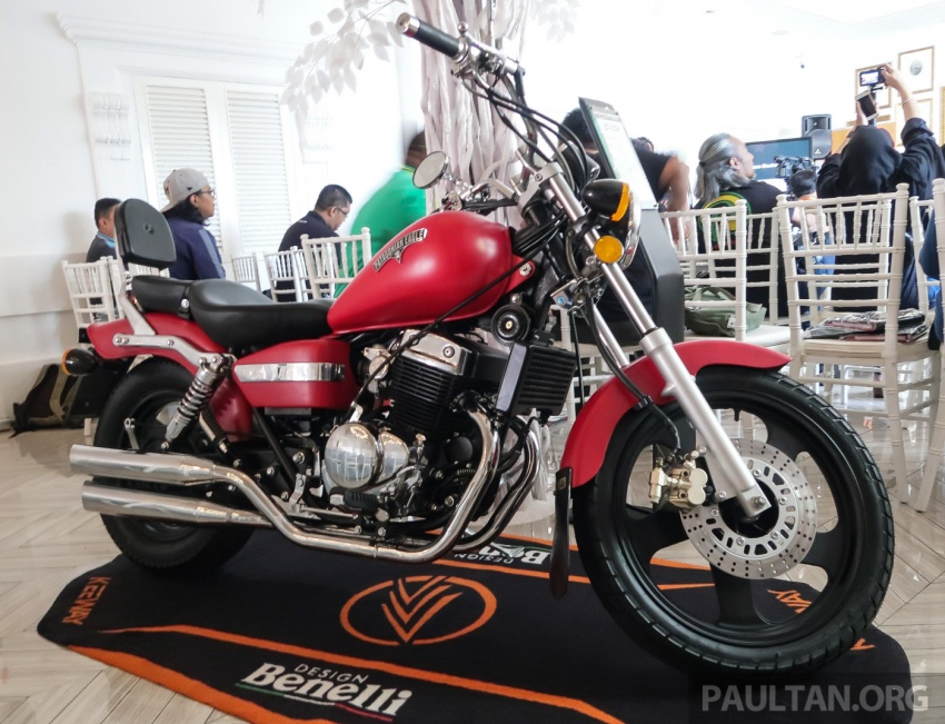 2018 Keeway K-Light 202 retro, Cafe Racer 152 and Patagonian Eagle 250 in Malaysia – from RM6,521 Image #725113