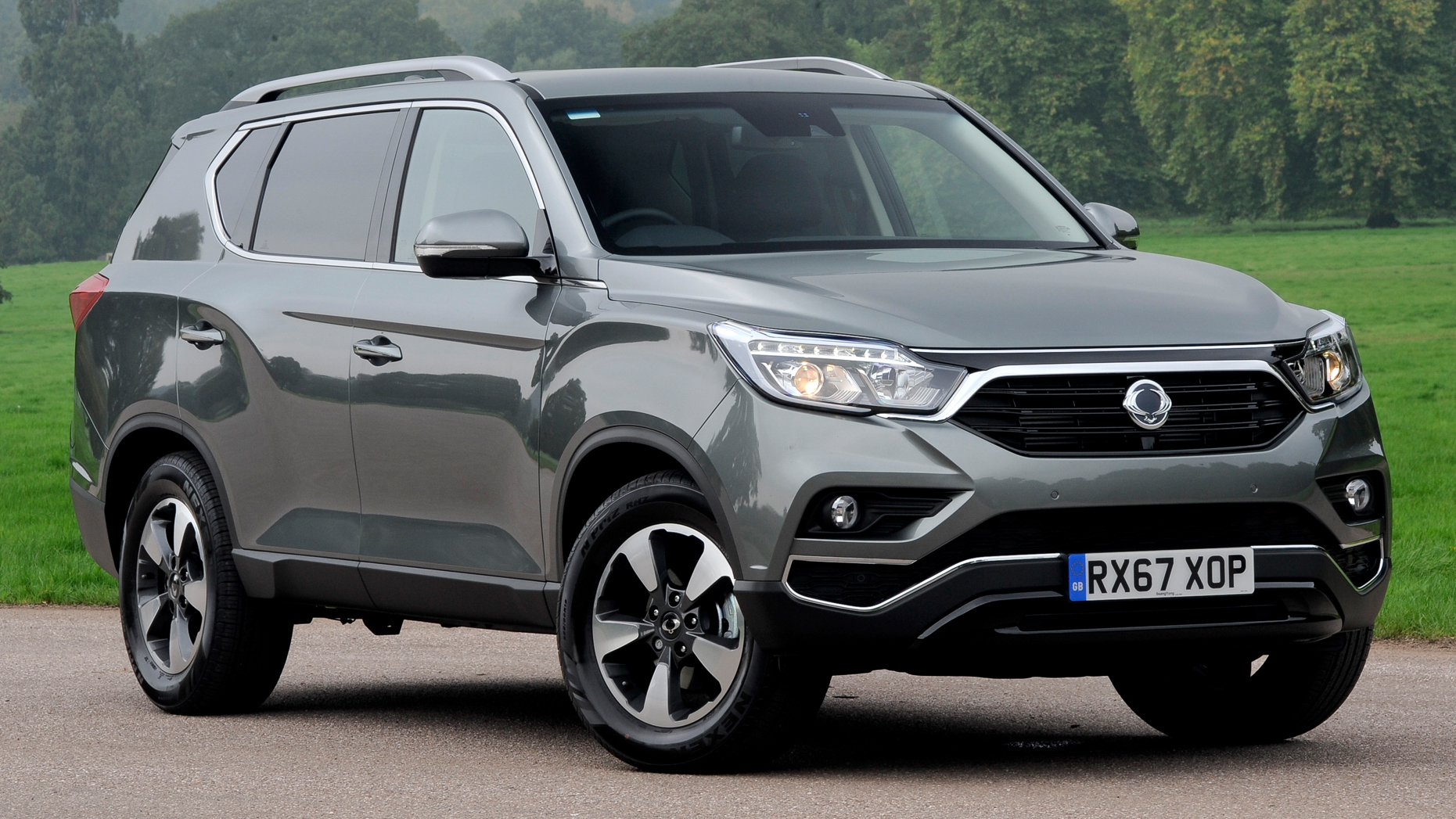 2018 Ssangyong Rexton More Pictures Revealed