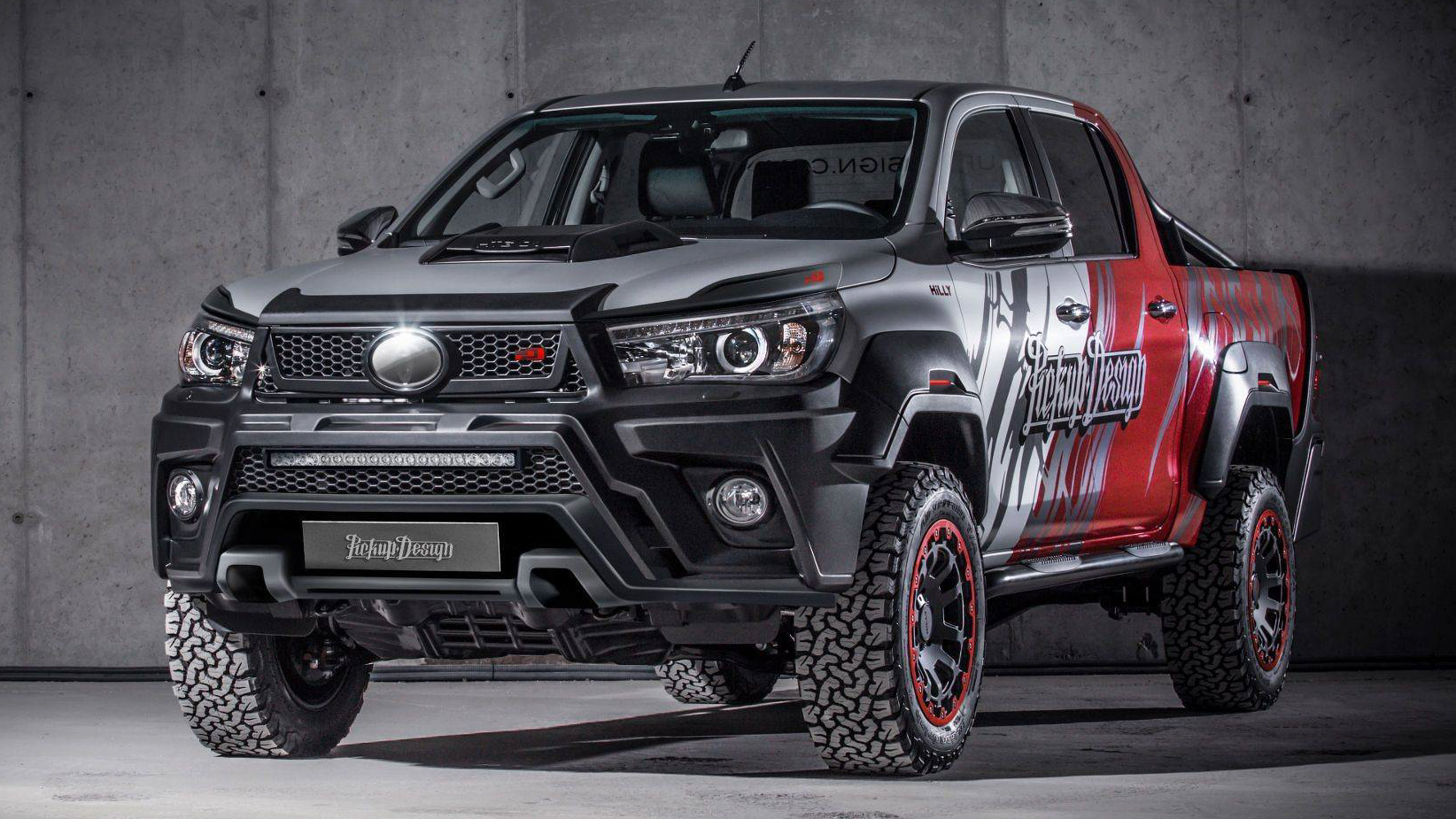 2018 toyota hilux gets all rugged with carlex design. Black Bedroom Furniture Sets. Home Design Ideas