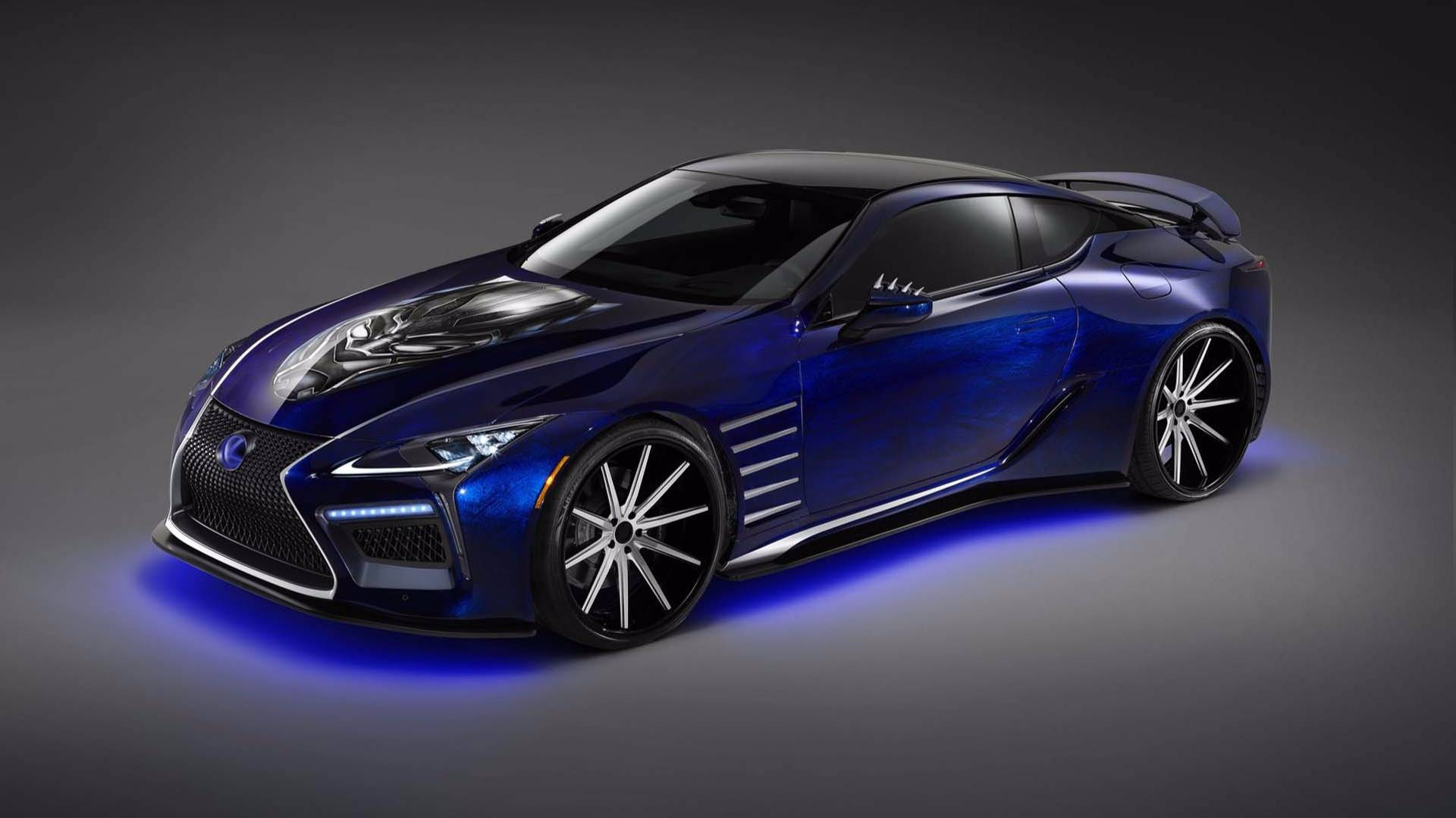 2018 Lexus Lc 500 To Feature In Black Panther Movie