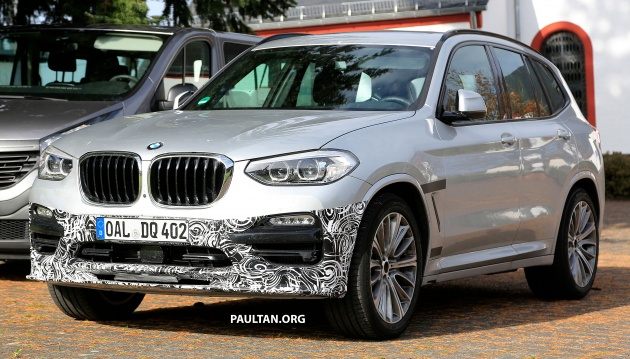 SPYSHOTS: 2018 Alpina XD3 spotted in the open