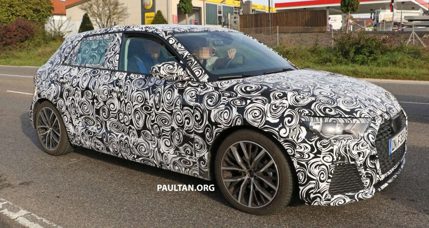 SPYSHOTS: Next-gen Audi A1 spotted testing again Image #724107