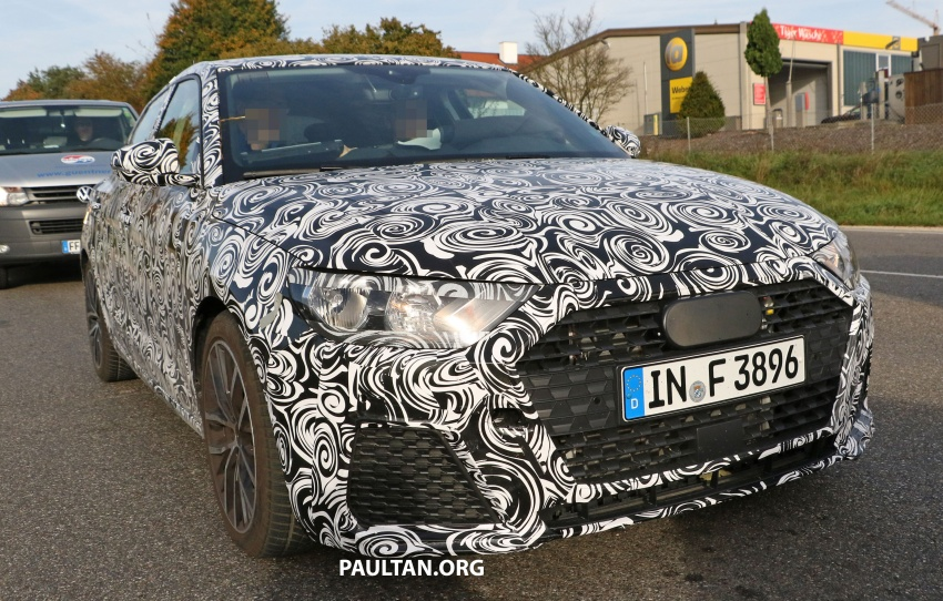 SPYSHOTS: Next-gen Audi A1 spotted testing again Image #724115